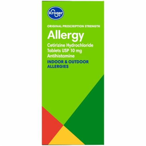 Kroger® 24 Hour Indoor & Outdoor Allergy Relief Tablets 10mg Perspective: right