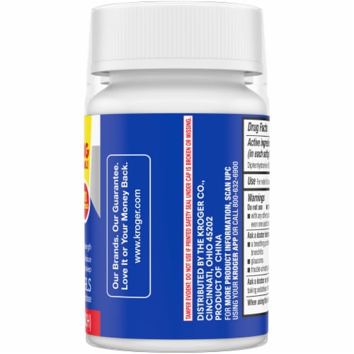 Kroger® Nighttime Sleep Aid Softgels Twin Pack Perspective: right