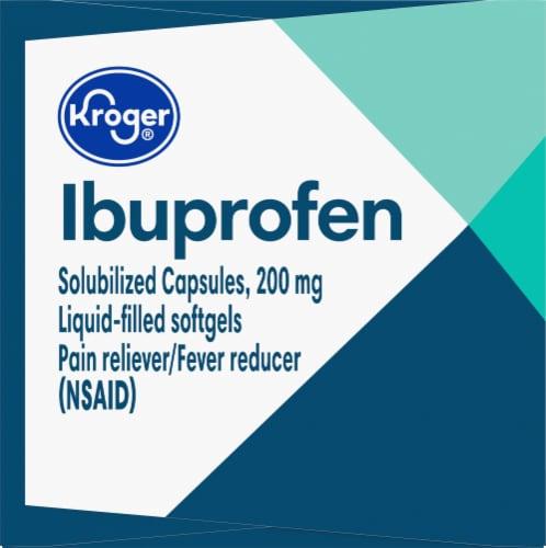 Kroger® Ibuprofen Capsules 200mg Perspective: right