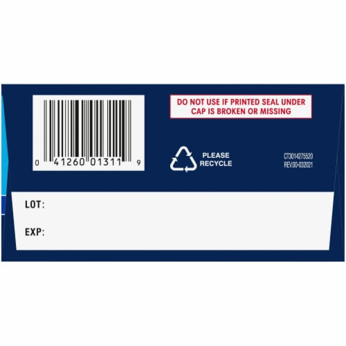 Kroger® Extra Strength Acetaminophen PM Caplets Twin Pack Perspective: right