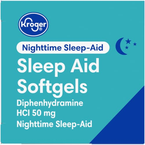 Kroger® Sleep Aid Softgels Perspective: right
