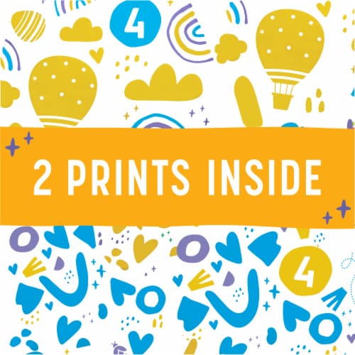 Comforts™ Size 4 Day or Night Diapers Value Box Perspective: right