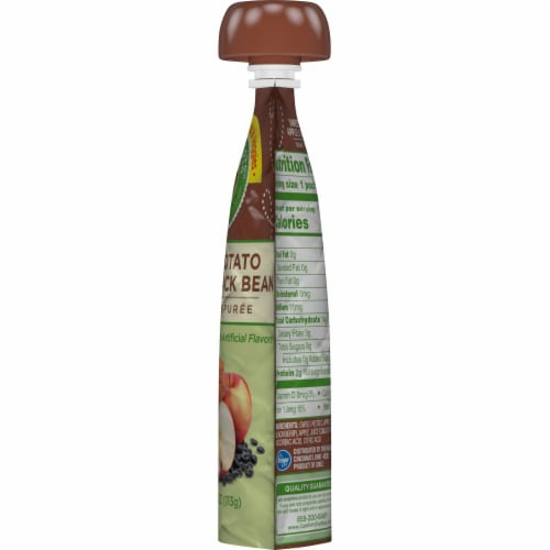 Comforts™ Sweet Potato Apple & Black Bean Stage 2 Baby Food Puree Pouch Perspective: right