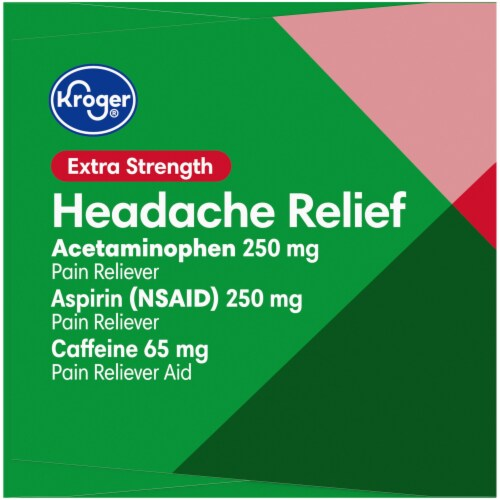 Kroger® Extra Strength Headache Relief Caplets Perspective: right