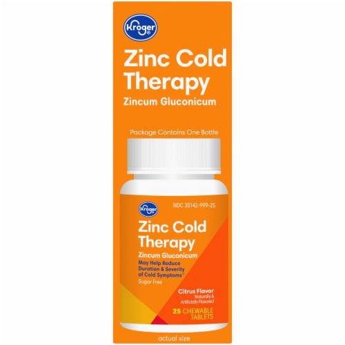 Kroger® Zinc Cold Therapy Citrus Flavor Quick Dissolve Tablets Perspective: right