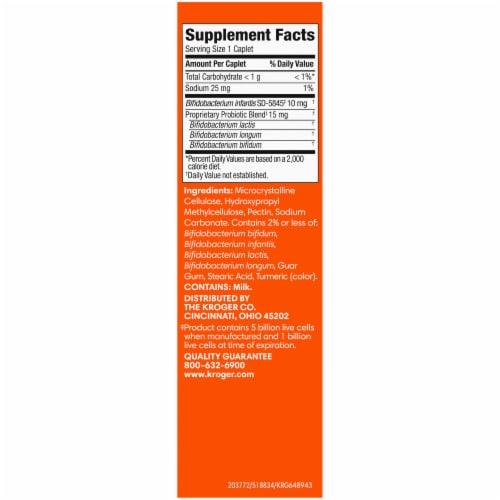 Kroger® 4X Probiotic® Probiotic Supplement Caplets Perspective: right