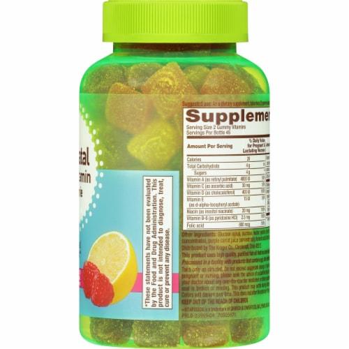 Kroger® Prenatal Multivitamin Gummies Perspective: right