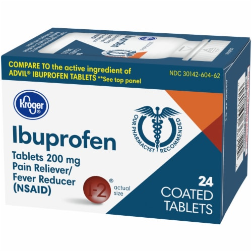 Kroger® Ibuprofen Tablets 200mg Perspective: right