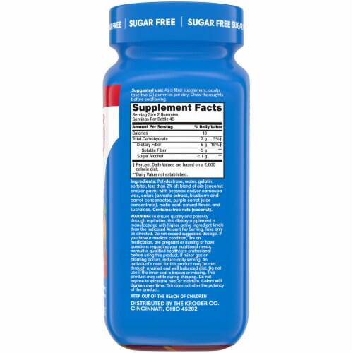 Kroger® Sugar Free Fiber Gummies Perspective: right