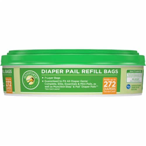 Comforts™ Diaper Pail Refill Bags Perspective: right