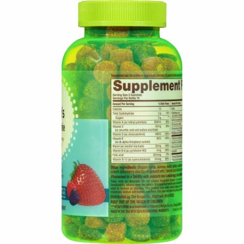 Kroger® Men's Natural Berry Multivitamin Gummies Perspective: right
