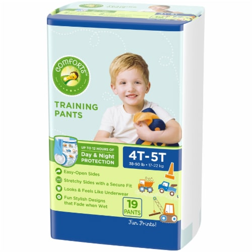 Comforts™ Day & Night 4T-5T Boys Training Pants Perspective: right