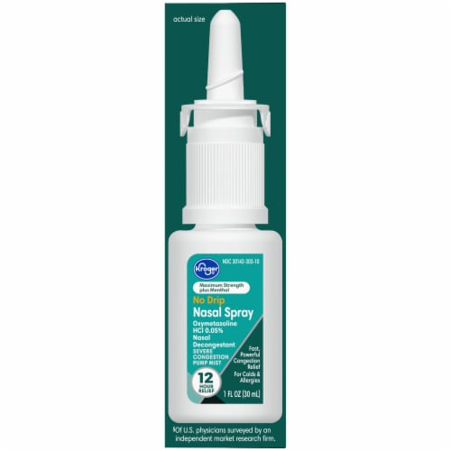 Kroger® Severe Congestion Nasal Spray Perspective: right