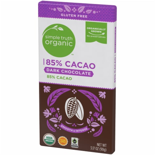 Simple Truth Organic™ 85% Cacao Dark Chocolate Bar Perspective: right