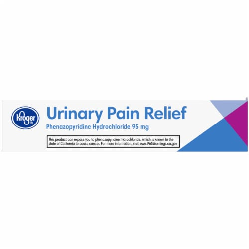 Kroger® Urinary Pain Relief Tablets 95mg 30 Count Perspective: right