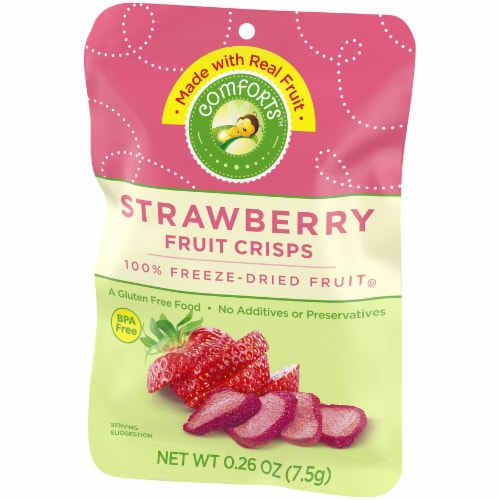Comforts™ Strawberry Fruit Crisps Perspective: right