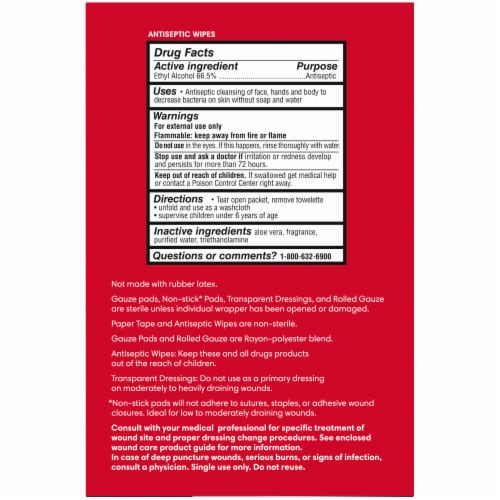 Kroger® 3 Step Wound Care Kit Perspective: right