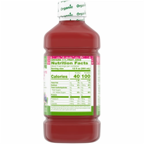 Simple Truth Organic™ Wild Berry Electrolyte Solution Perspective: right