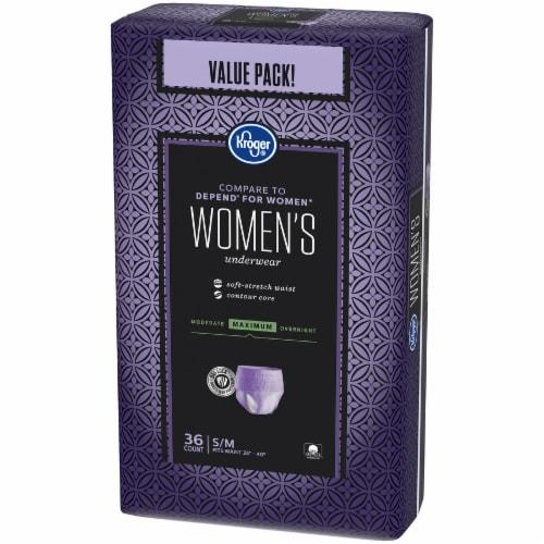 Kroger® S/M Maximum Absorbency Underwear for Women Perspective: right