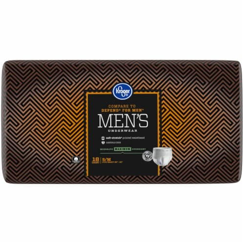 Kroger® S/M Maximum Absorbency Underwear for Men Perspective: right