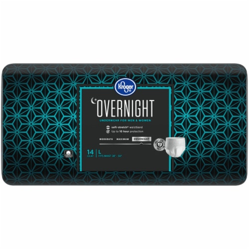 Kroger® Overnight Underwear for Women and Men LG Perspective: right