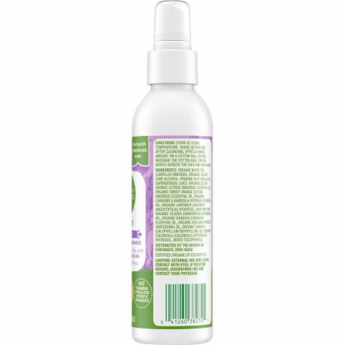 Simple Truth Organic™ Lavender Orange Face Toner Perspective: right