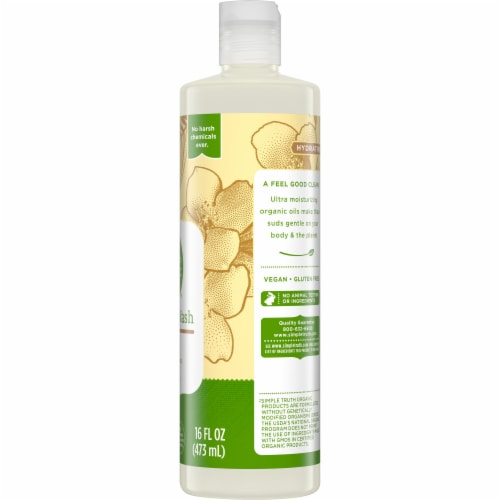 Simple Truth Organic™ Coconut Vanilla Body Wash Perspective: right
