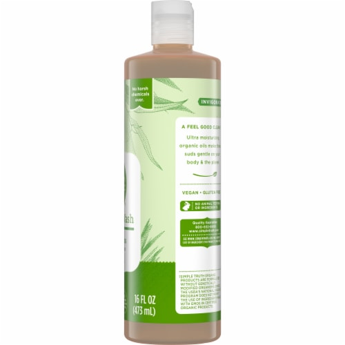 Simple Truth Organic® Tea Tree Eucalyptus Body Wash Perspective: right