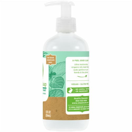 Simple Truth™ Rosemary Mint Hand Soap Pump Perspective: right