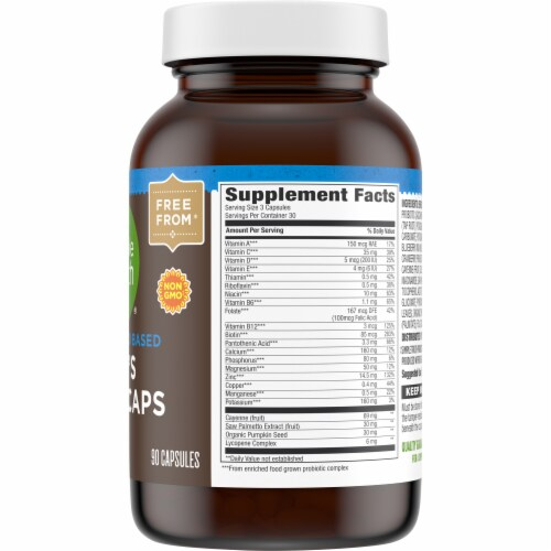 Simple Truth™ Men's Whole Food Based Multi Capsules Perspective: right