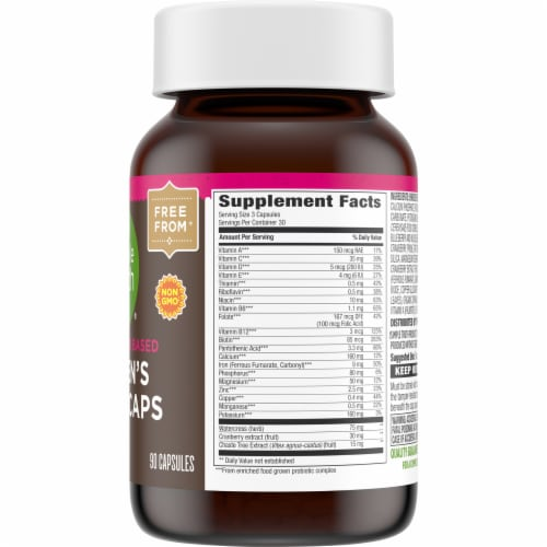 Simple Truth™ Women's Whole Food Based Multi Capsules Perspective: right