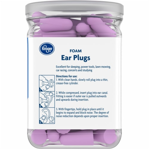 Kroger® Foam Ear Plugs 50 Count Perspective: right