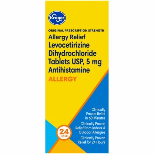 Kroger® Original Prescription Strength Allergy Relief Tablets Perspective: right