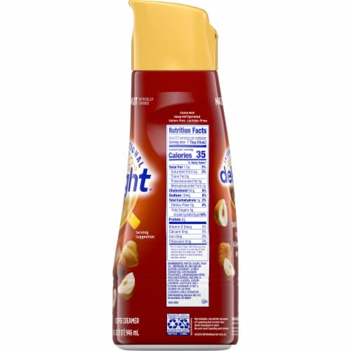 International Delight Hazelnut Coffee Creamer Perspective: right