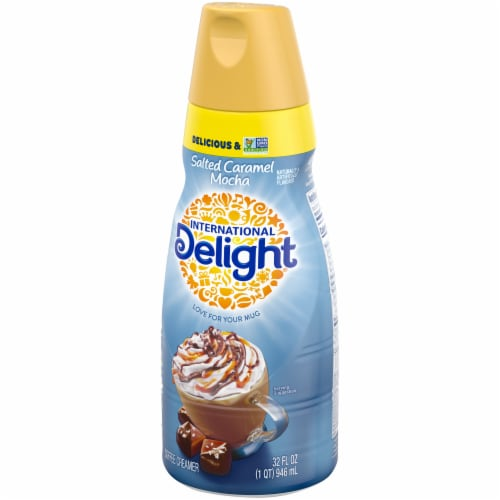 International Delight Salted Caramel Mocha Coffee Creamer Perspective: right