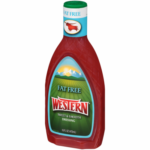 Western Fat Free Sweet & Smooth Dressing Perspective: right