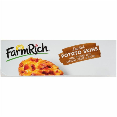 Farm Rich® Loaded Potato Skins Party Size Perspective: right
