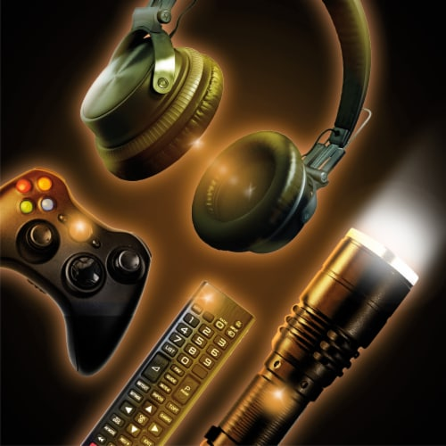 Duracell 9V Alkaline Batteries Perspective: right