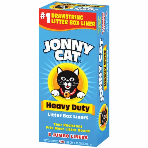 Jonny Cat Heavy Duty Litter Box Liners Perspective: right