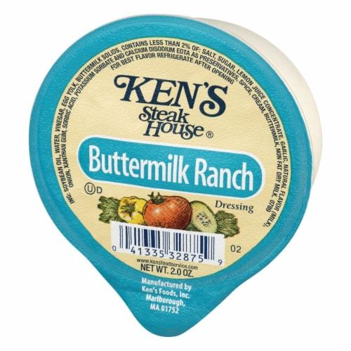 Ken's Steak House Buttermilk Ranch Dressing Perspective: right