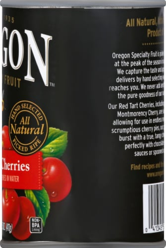 Oregon Fruit Products Pitted Red Tart Cherries Perspective: right