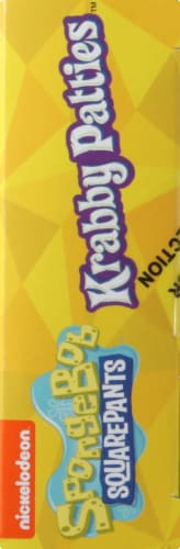 Frankford Spongebob Squarepants Krabby Patties Gummy Candy Perspective: right
