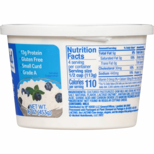 Lactaid 4% Milkfat Lactose Free Cottage Cheese Perspective: right
