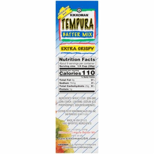 Kikkoman Extra Crispy Tempura Batter Mix Perspective: right