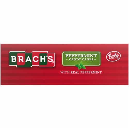 Brach's Mini Peppermint Candy Canes Perspective: right