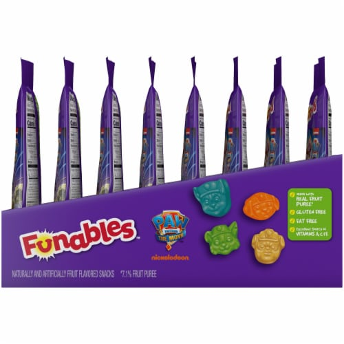 Kellogg's Funables Paw Patrol Assorted Fruit Flavored Snacks Perspective: right