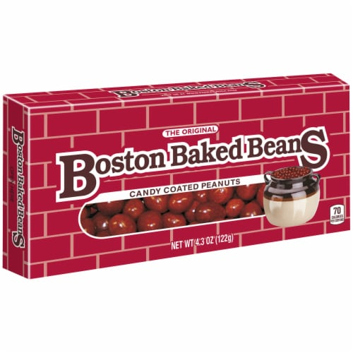 Boston Baked Beans Candy Coated Peanuts Theater Box Perspective: right