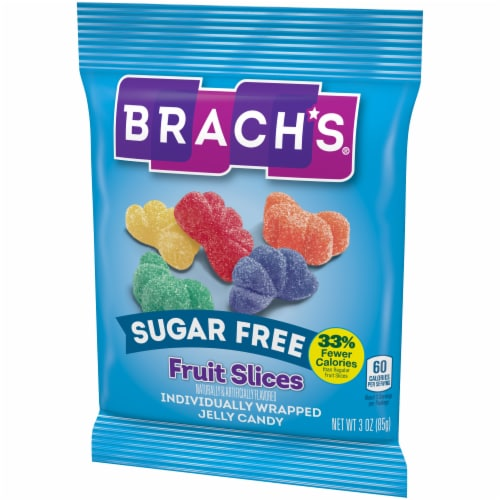 Brach's® Sugar Free Fruit Slices Jelly Candy Perspective: right