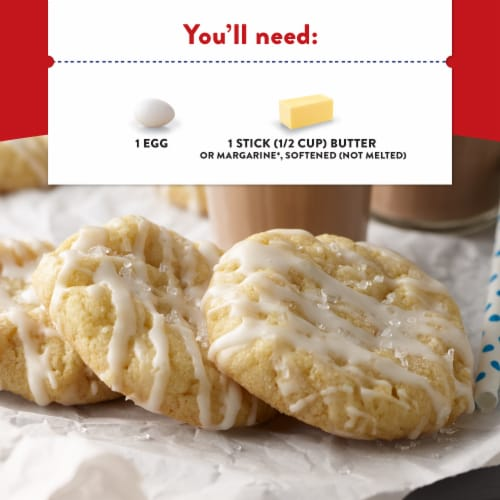 Krusteaz Butter Vanilla Sugar Cookie Mix Perspective: right
