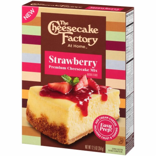The Cheesecake Factory At Home Strawberry Premium Cheesecake Mix Perspective: right